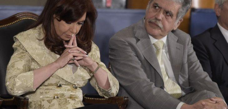 Cristina Fernández y Julio de Vido   ARCHIVO   Agence France-Presse