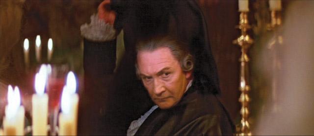 """Roy Dotrice en """"Amadeus"""" (1984)"""