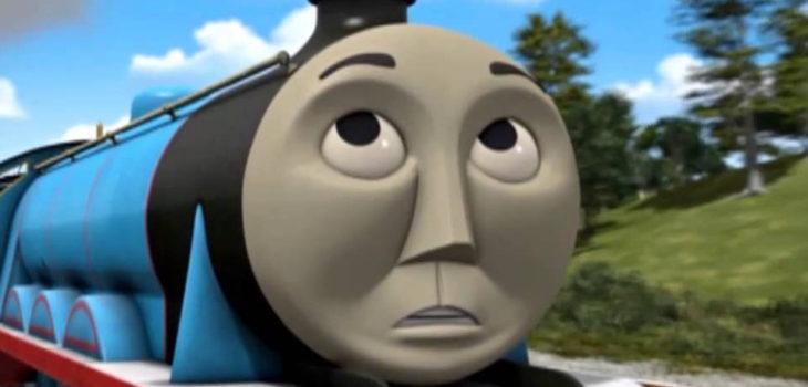 Antigua escena de Thomas y sus amigos causa polémica: tren es ...
