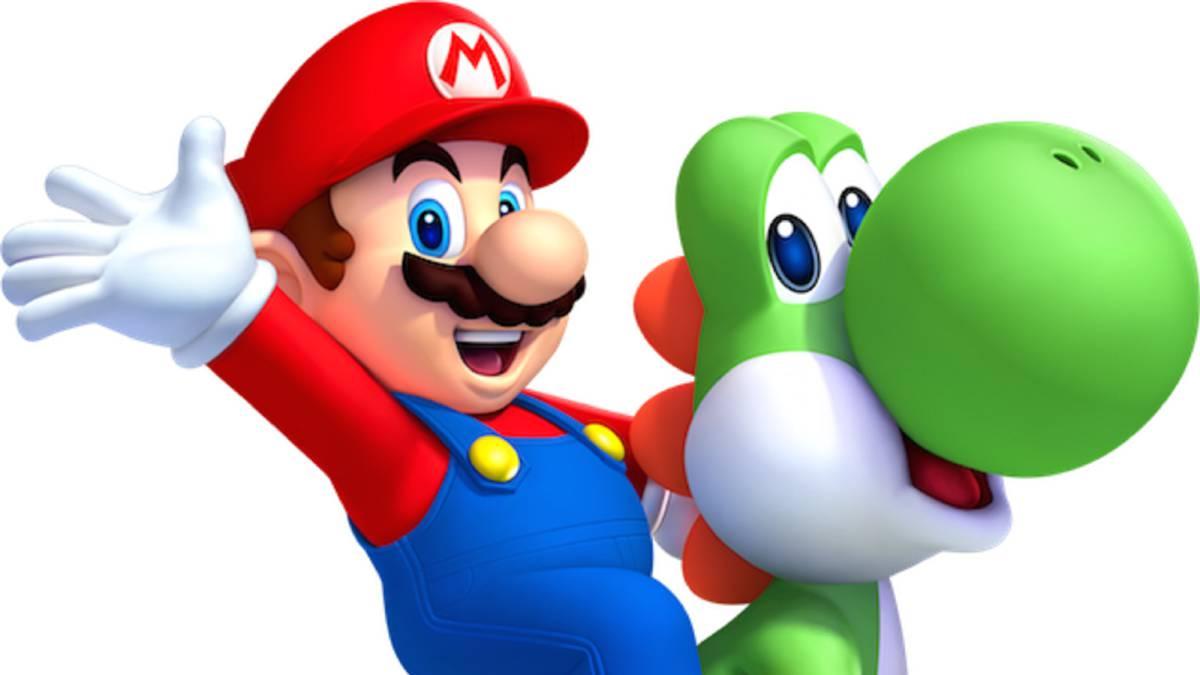 Yoshi y Mario | Nintendo