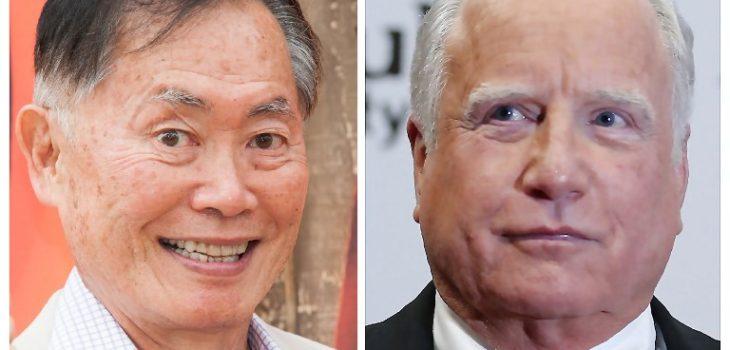 George Takei y Richard Dreyfuss | Agencia AFP