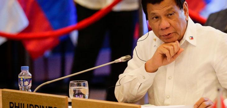 Rodrigo Duterte, presidente de Filipinas | Agence France-Presse