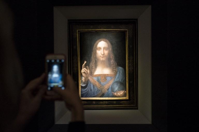 El 'Salvator Mundi' de Leonardo da Vinci | Agencia AFP | Drew Angerer