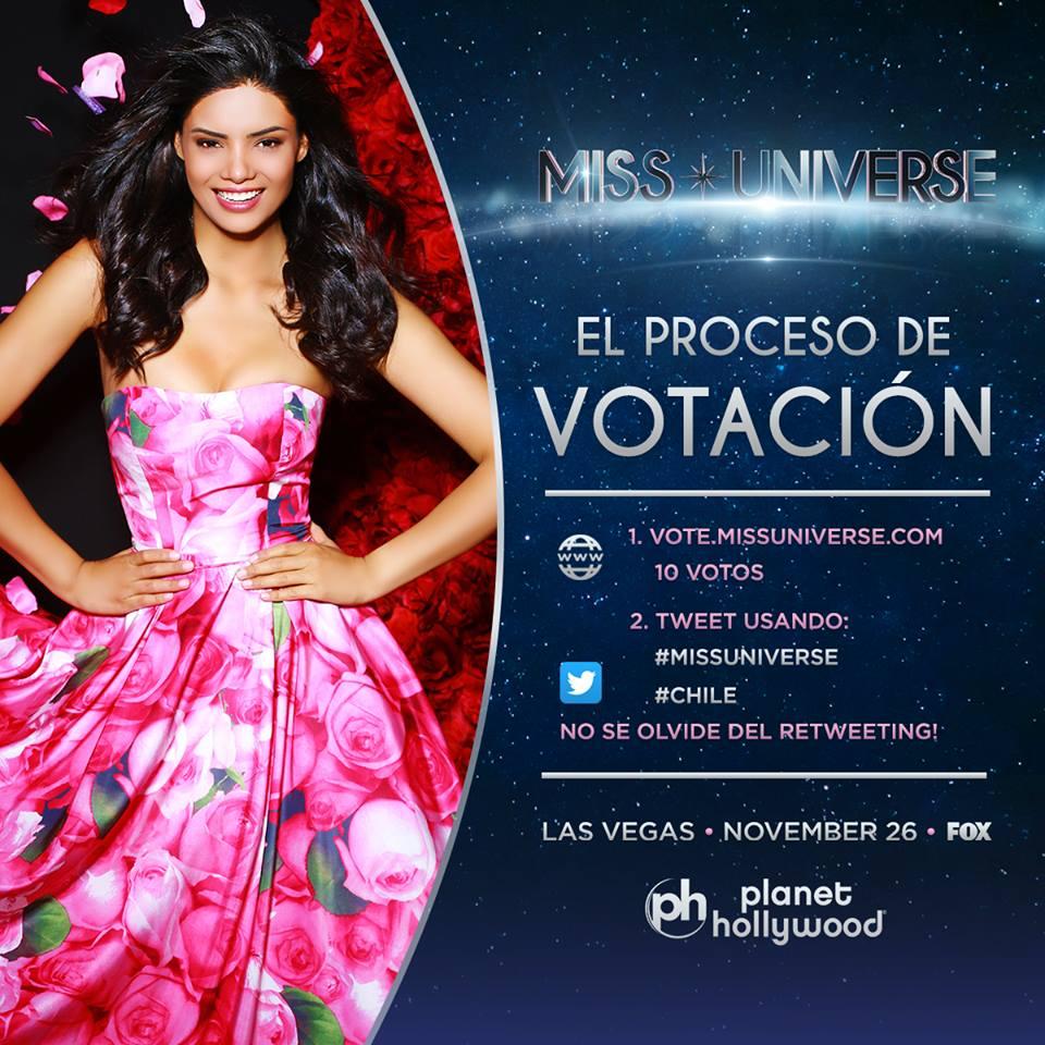 Miss Chile Natividad Leiva | Miss Universo