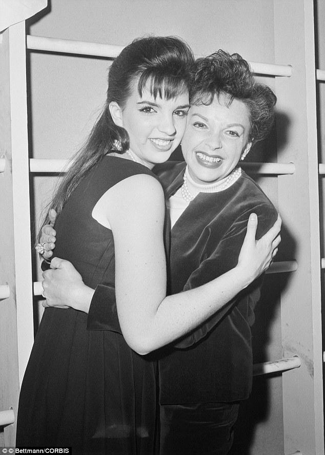 Garland y Liza Minnelli