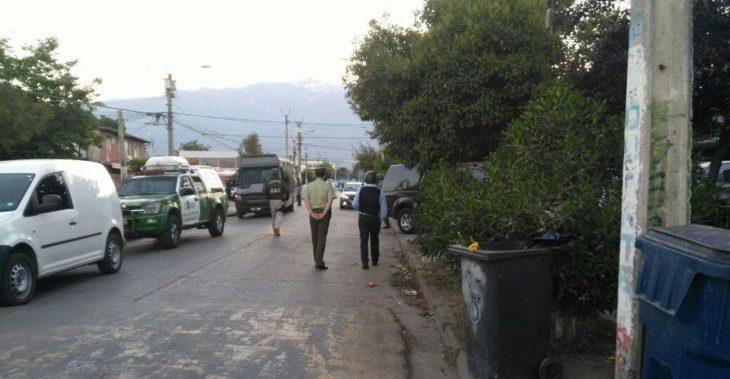 Amplio operativo policial en población Santa Julia busca desbaratar bandas de narcotráfico