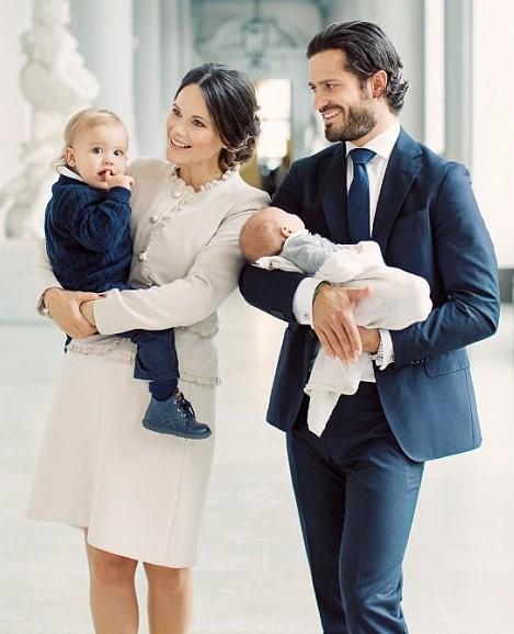 Sofia y su familia