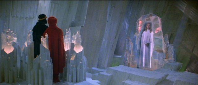 """Escena de la versión original de """"Superman II""""."""