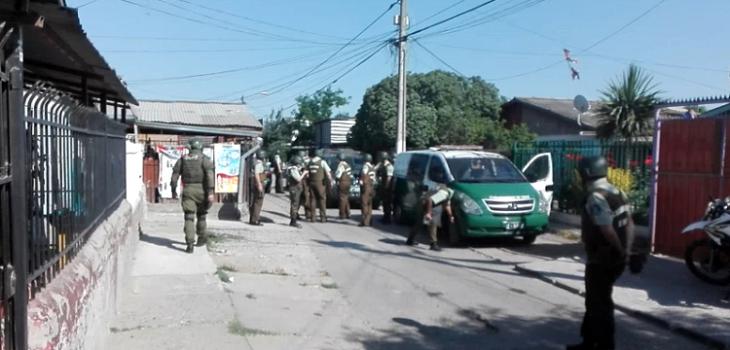 Carabineros sufren nuevo ataque armado en fiscalizaci n en for Lo espejo 04500