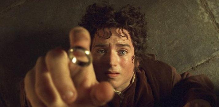 """Frodo en la película """"El Señor de los Anillos: La comunidad del Anillo"""""""