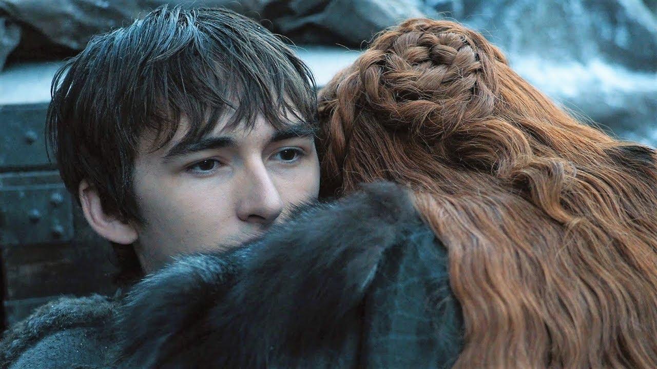 Bran y Sansa en Game of Thrones temporada 7