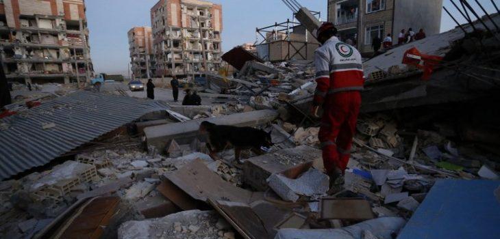 Resultado de imagen de terremoto irak iran