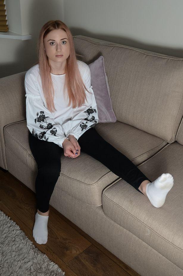 Paige Howitt, la joven con el extraño síndrome | Mirror
