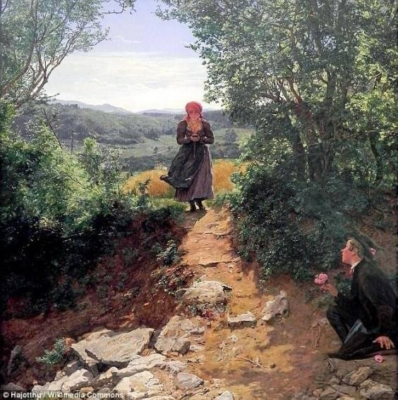 'La esperada' (1860)   Ferdinand Georg Waldmuller