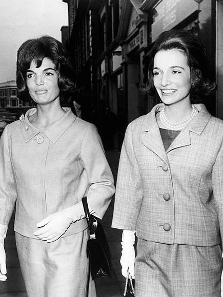 Jackie Kennedy y Lee Radziwill en Londres