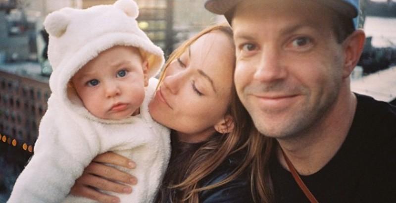 Olivia WIlde y su familia