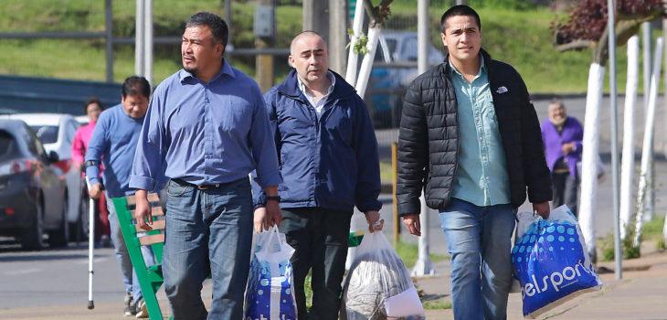 David Cid (al medio) | Agencia UNO