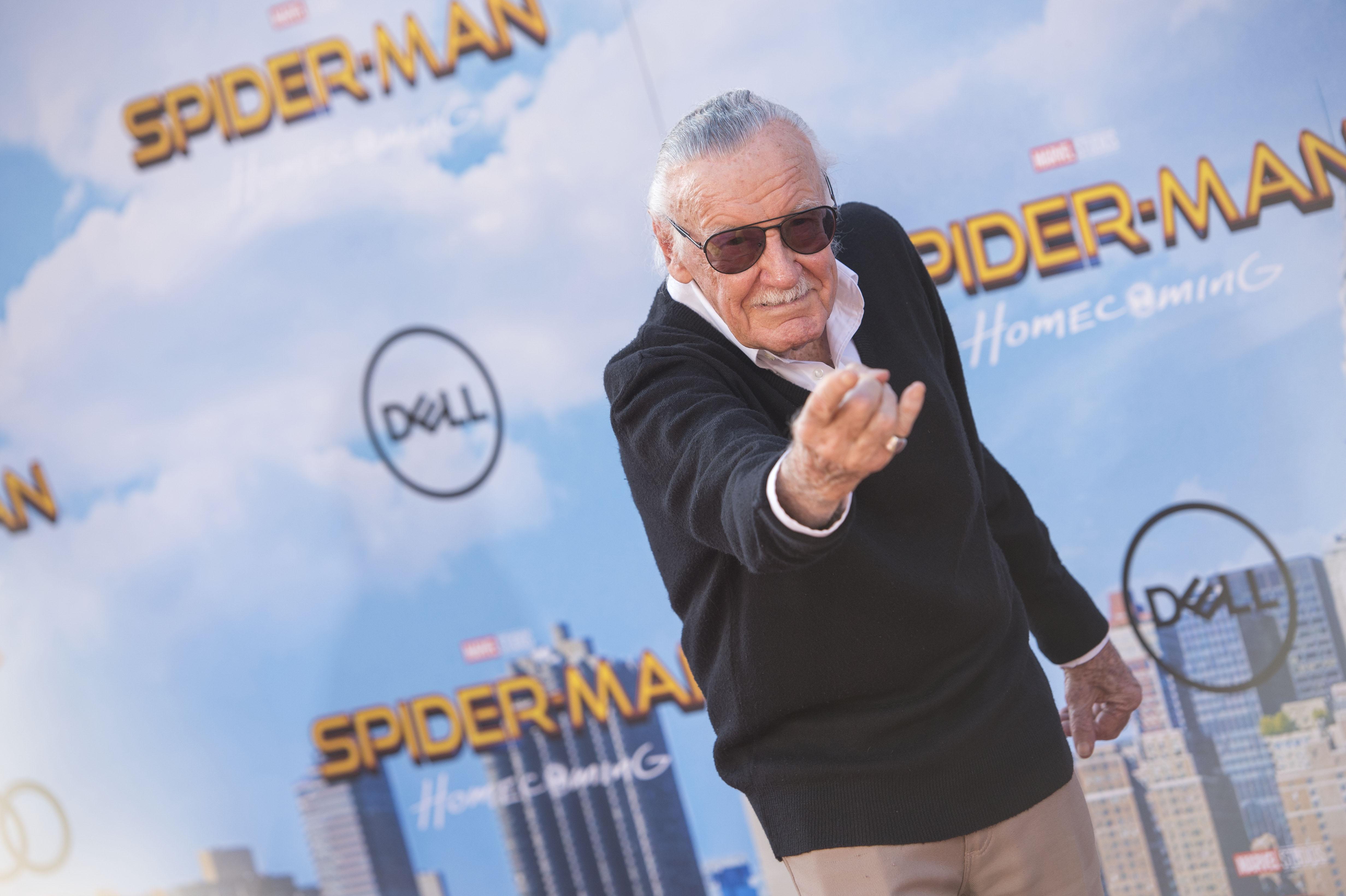 Stan Lee, creador de Spiderman | Agence France-Presse