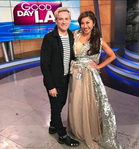 Tom en septiembre, en el programa Buenos Días LA/Instagram