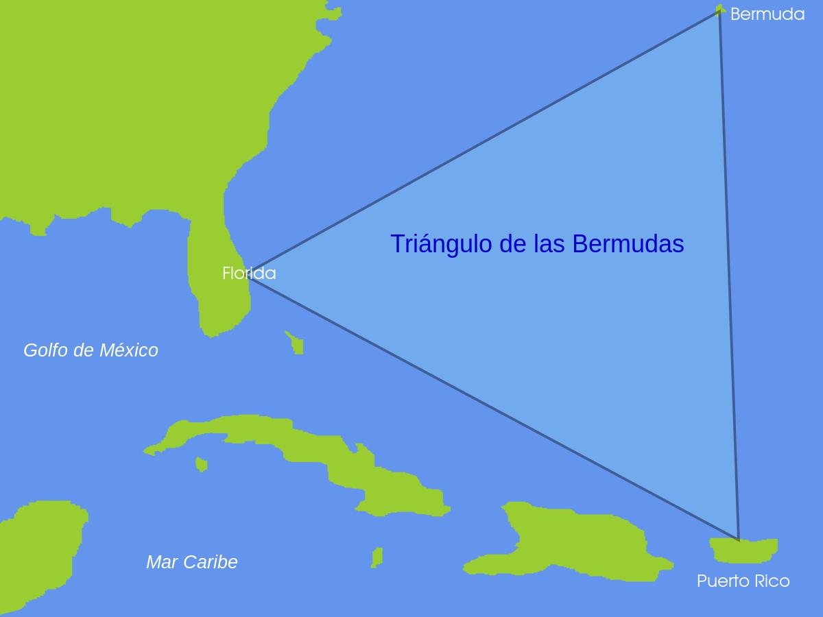 Triángulo de las Bermudas (CC) Wikimedia Commons