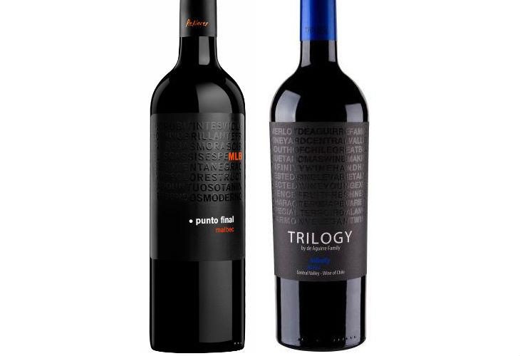 Vinos argentino y chileno