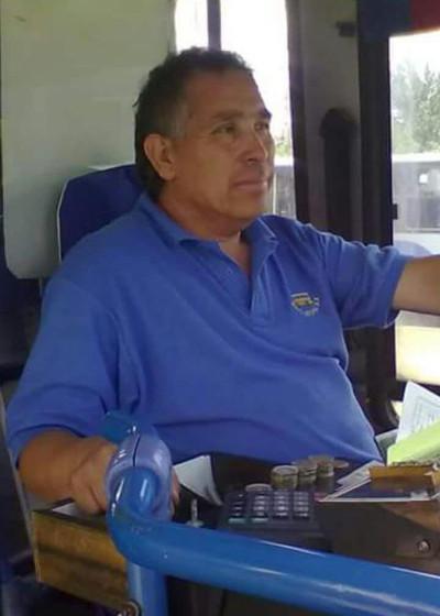 """Manuel Gaete """"Petete"""". Conductor fallecido en máquina 19 de la línea Nueva Sotrapel"""
