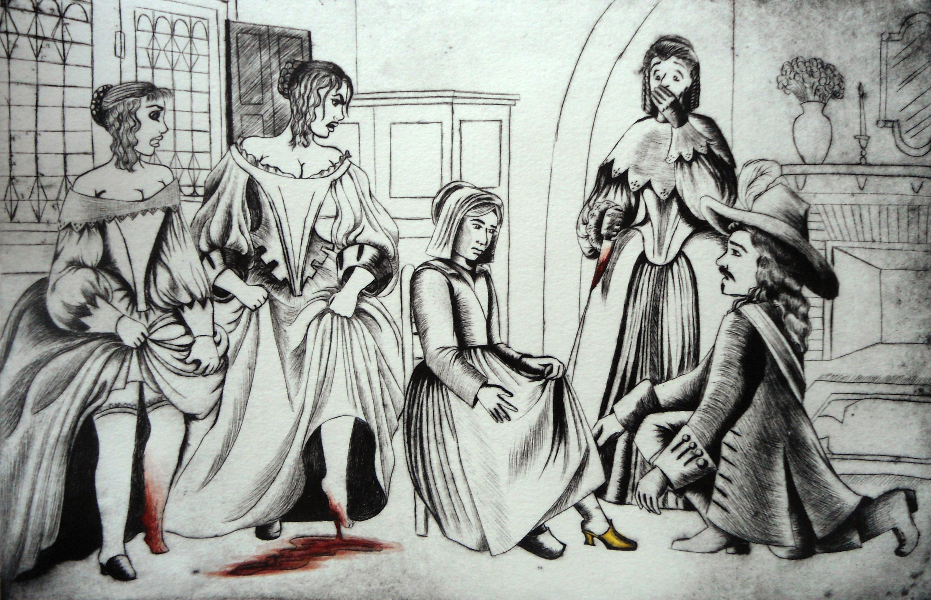 Ilustración La Cenicienta