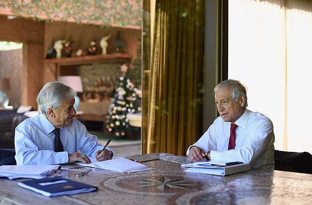 Prensa Sebastián Piñera | Agencia UNO