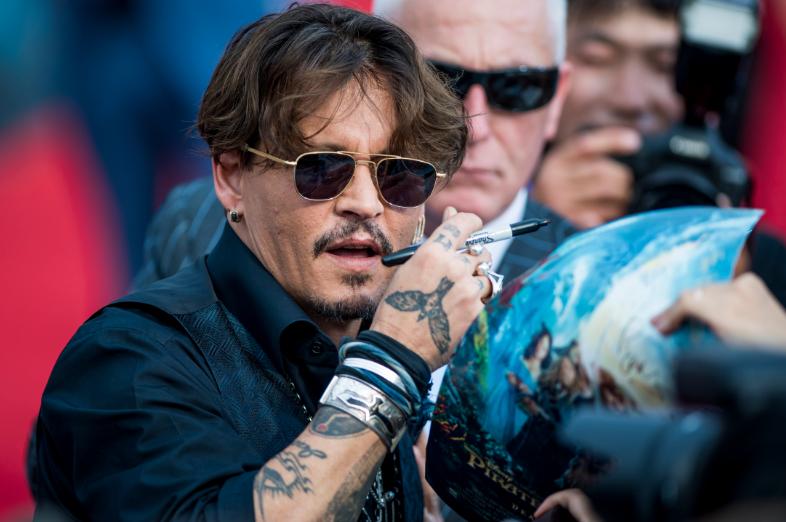Johnny Depp | Agence France-Presse