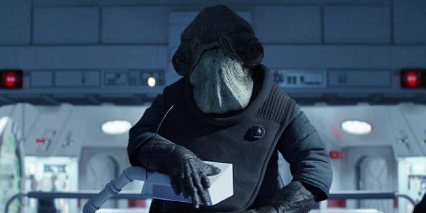 """Almirante Raddus en """"Rogue One"""""""
