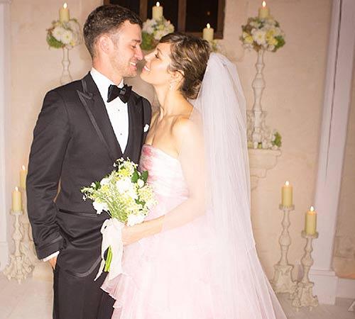 Boda de Jessica Biel y Justin Timberlake