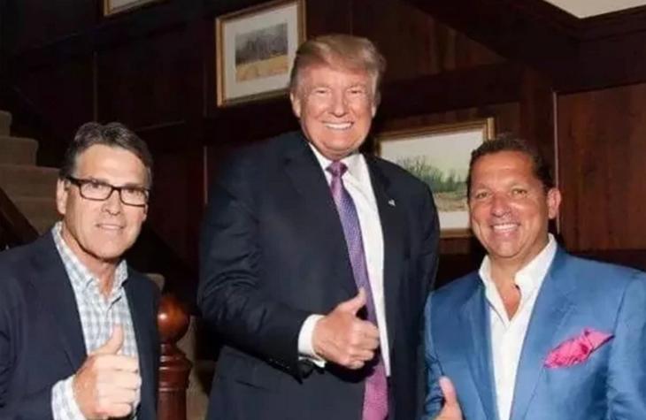 El abogado también reunió fondos para la campaña presidencial de Donald Trump.
