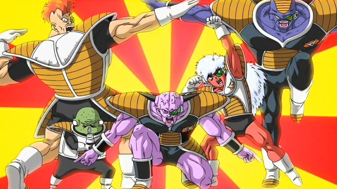 Fuerzas Especiales de Gi Nyu | Dragon Ball Z
