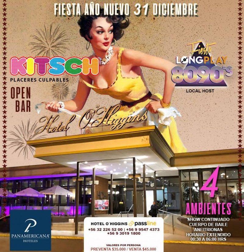 Fiesta Kitsch en Hotel O'Higgins