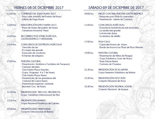 itinerario-de-expo-huara-2017