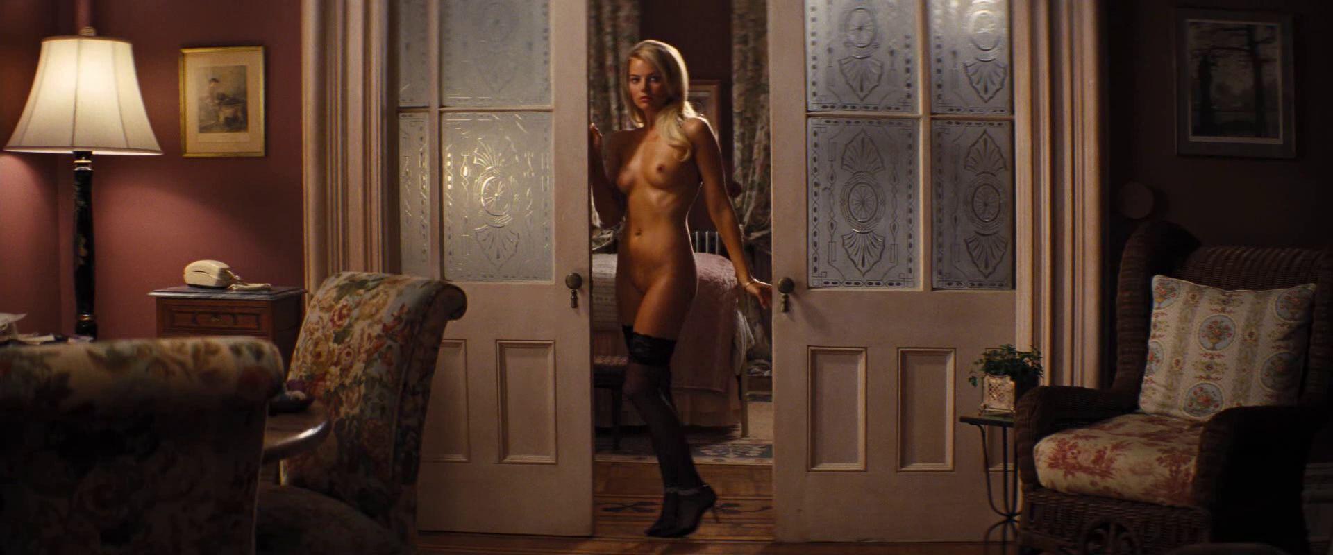 Margot Robbie en Lobo de Wall Street