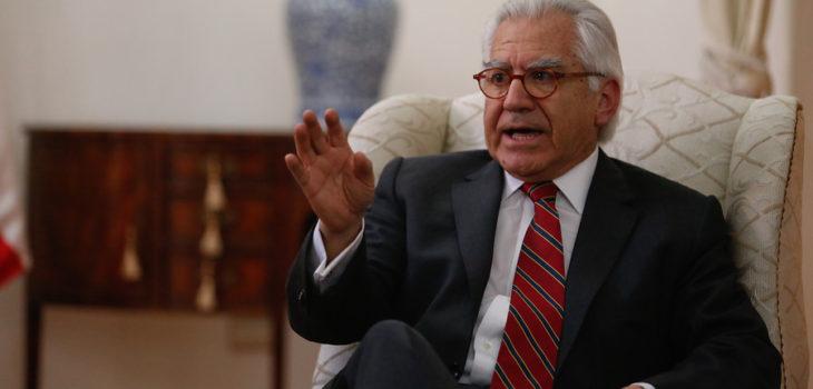 Ministro del interior llama a su generaci n a retirarse for Nombre del ministro de interior