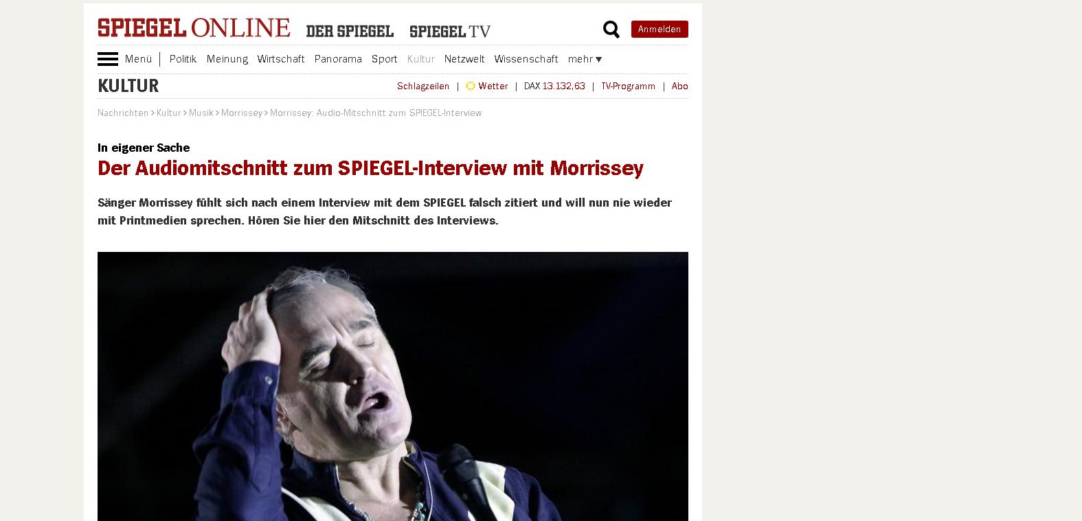 La publicación Der Spiegel.