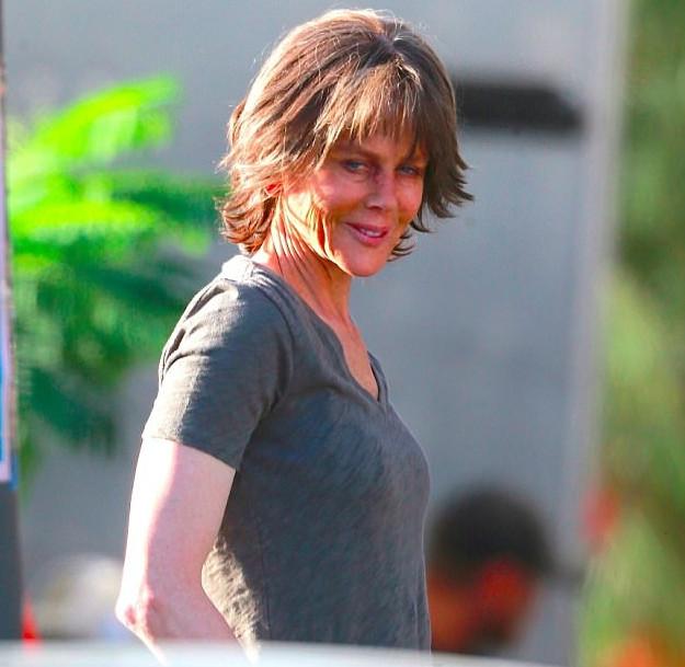 Nicole Kidman luce irreconocible en set de su nueva película