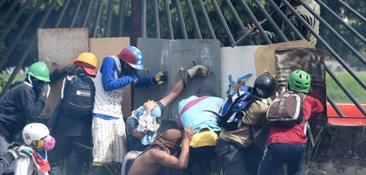 Protesta de opositores en Venezuela | ARCHIVO | Agence France-Presse