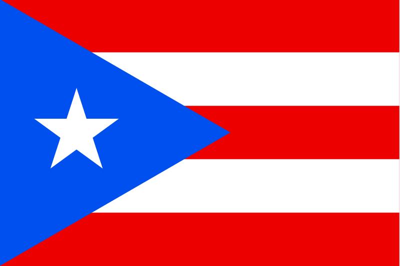 Bandera de Puerto Rico (CC) Wikimedia Commons