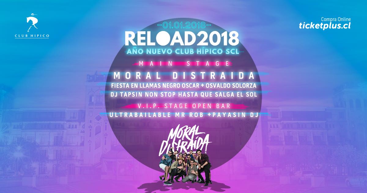Año Nuevo en Club Hípico - Reload 2018