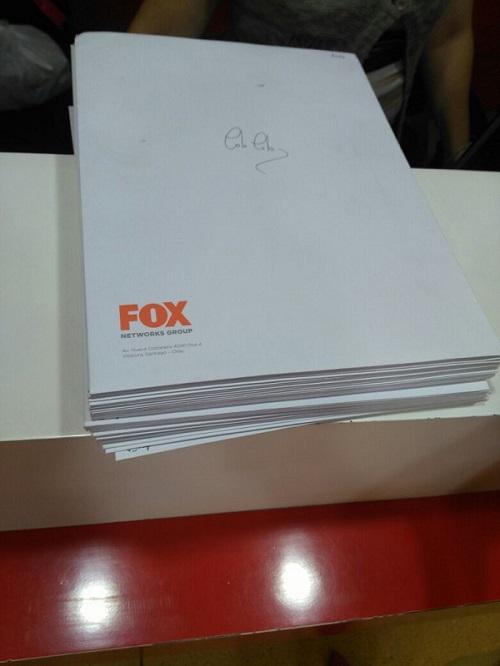 Sobres con documentos de Fox para dirigentes | Eduardo Figueroa | BBD