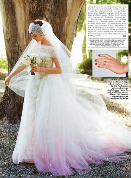 Vestido de boda de Anne Hathaway | Vogue