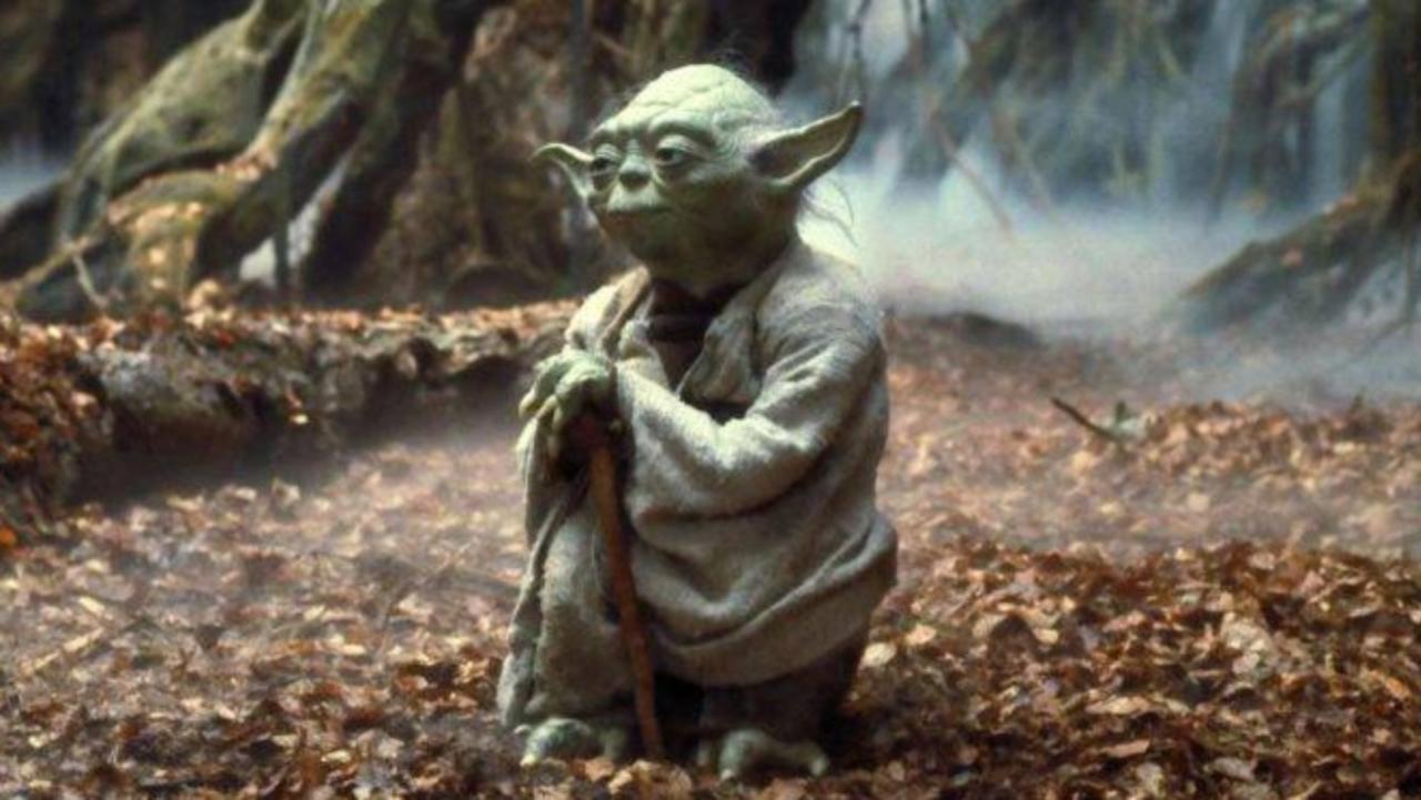"""Yoda en """"Star Wars Episodio V - El Imperio contraataca"""""""