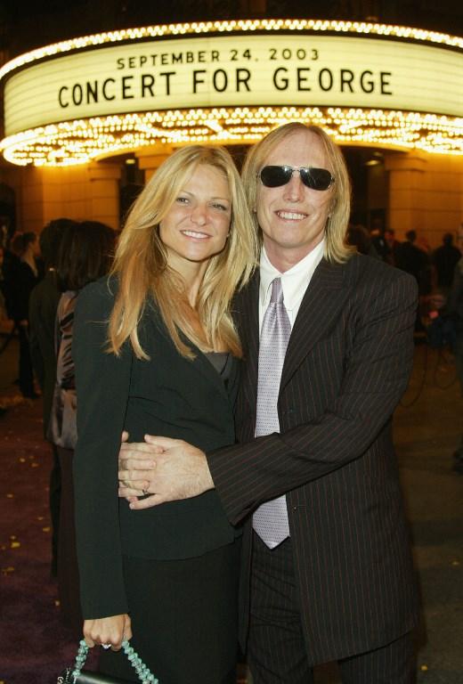 Tom Petty y su esposa | Frazer Harrison AFP
