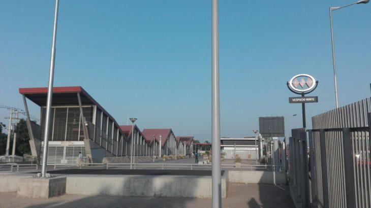 Estación Vespucio Norte | Christian Borcoski | RBB