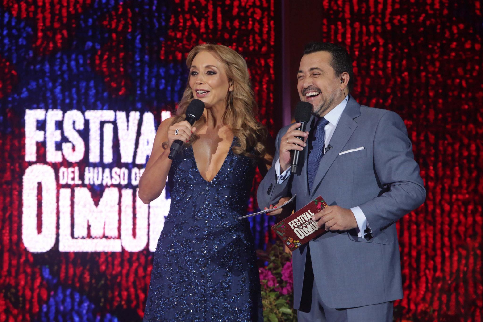 Karen Doggenweiler y Leo Caprile | TVN