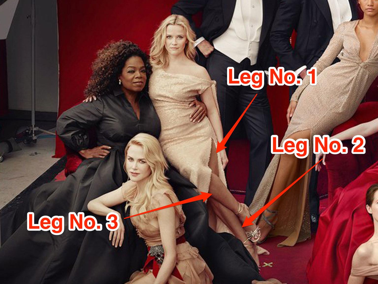 El exceso de Photoshop en esta tapa de Vanity Fair fue furor