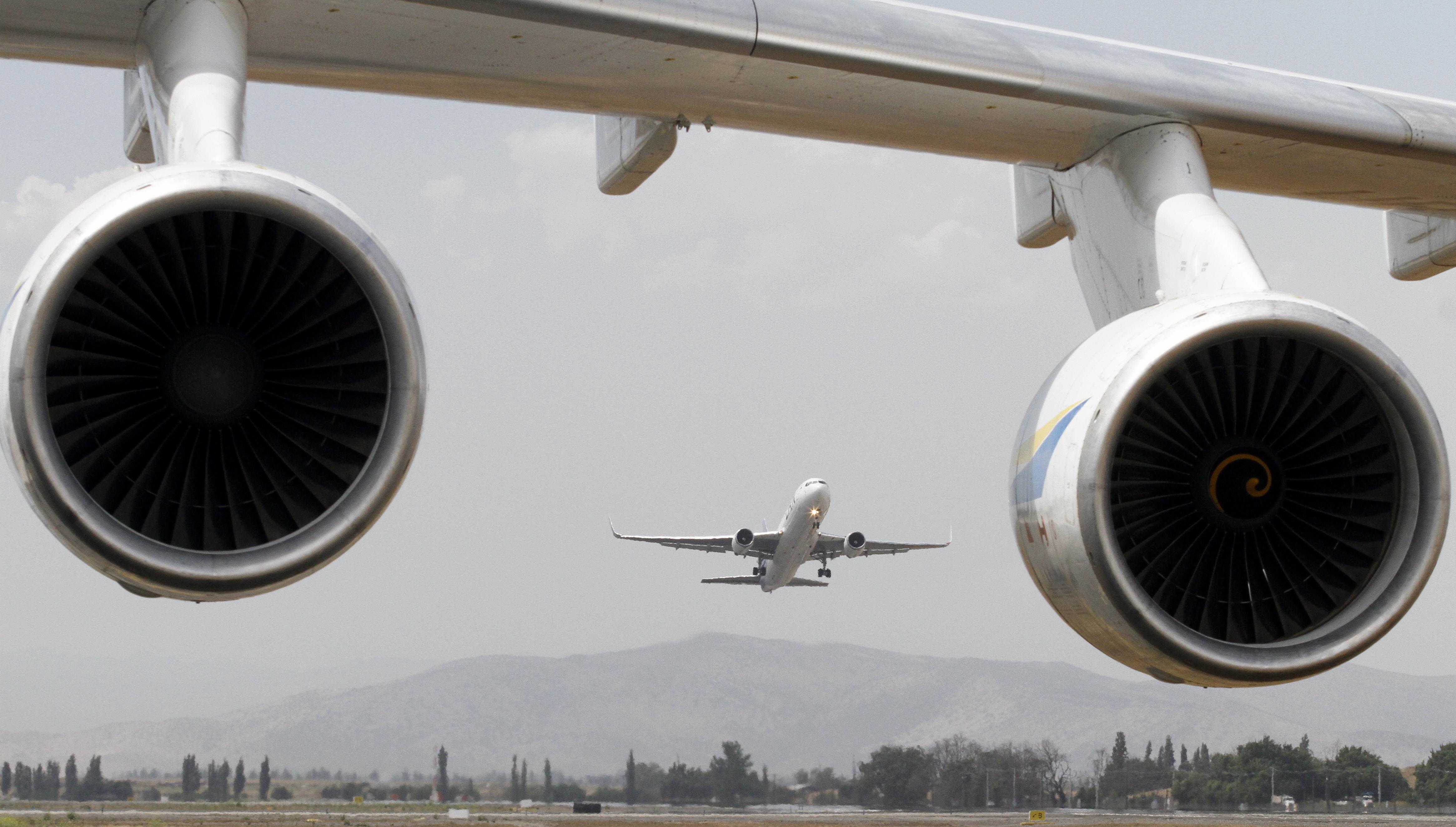 tráfico aéreo en Chile